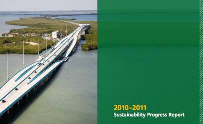 2012 Sustainability Report Cover